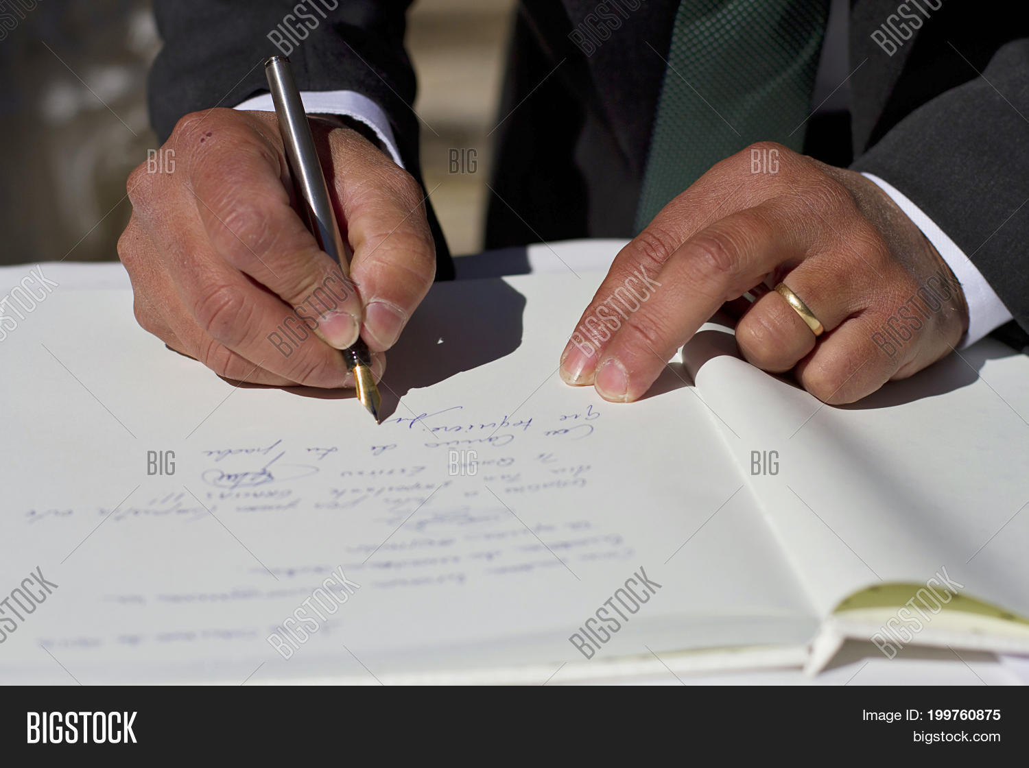 Witness Signing Legal Image Photo Free Trial Bigstock - Signing legal documents