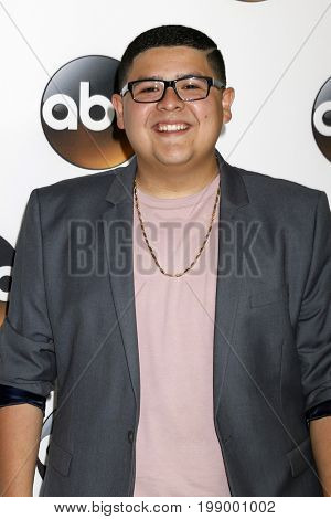 LOS ANGELES - AUG 6:  Rico Rodriguez at the ABC TCA Summer 2017 Party at the Beverly Hilton Hotel on August 6, 2017 in Beverly Hills, CA