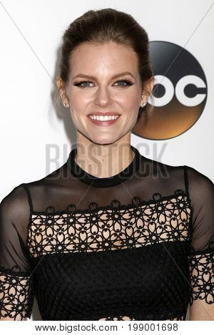 LOS ANGELES - AUG 6:  Chelsey Crisp at the ABC TCA Summer 2017 Party at the Beverly Hilton Hotel on August 6, 2017 in Beverly Hills, CA