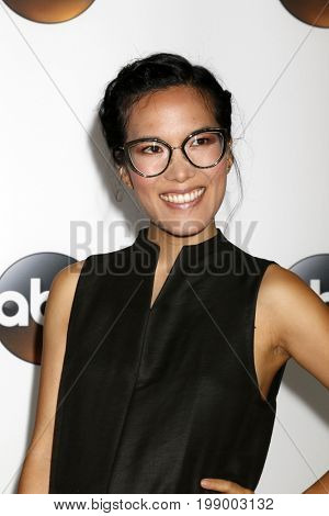 LOS ANGELES - AUG 6:  Ali Wong at the ABC TCA Summer 2017 Party at the Beverly Hilton Hotel on August 6, 2017 in Beverly Hills, CA