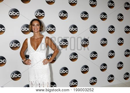 LOS ANGELES - AUG 6:  Gabrielle Anwar at the ABC TCA Summer 2017 Party at the Beverly Hilton Hotel on August 6, 2017 in Beverly Hills, CA