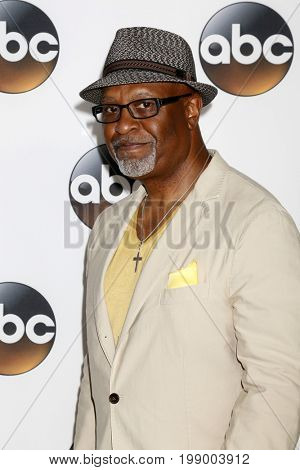 LOS ANGELES - AUG 6:  James Pickens Jr at the ABC TCA Summer 2017 Party at the Beverly Hilton Hotel on August 6, 2017 in Beverly Hills, CA