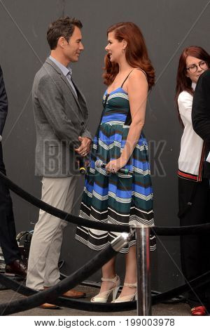 LOS ANGELES - AUG 2:  Eric McCormack, Debra Messing at the