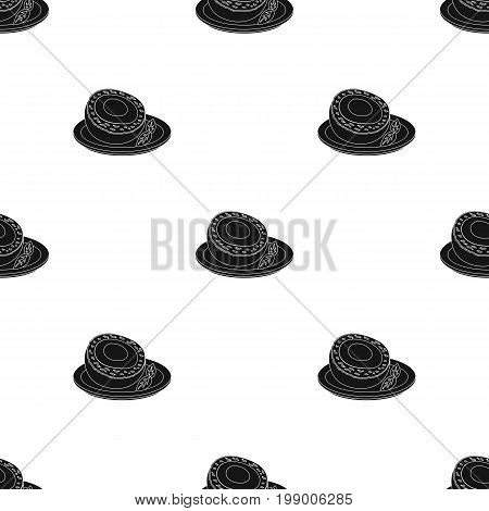 Scotch eggs icon in black design isolated on white background. Scotland country symbol stock vector illustration.