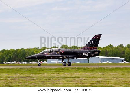 Albatros Jet Taking Off