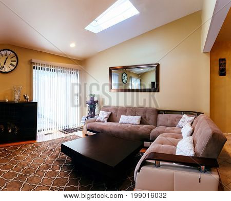 Living Room Interior Design In A New House