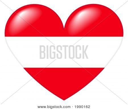 ÖSterreichisch Herz - Austrian Heart
