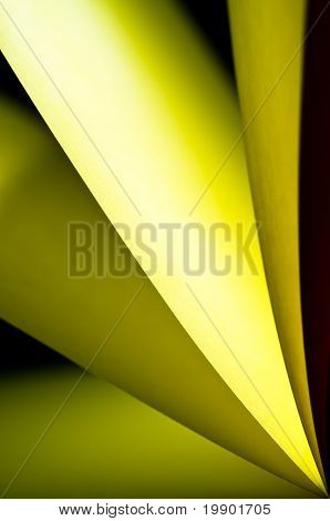 Yellow paper background vertical right