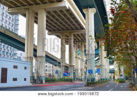 Highway In Shanghai, China