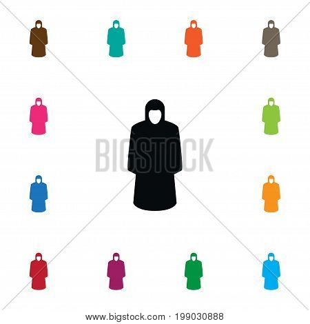 Raincoat Vector Element Can Be Used For Raincoat, Protection, Jacket Design Concept.  Isolated Protection Jacket Icon.