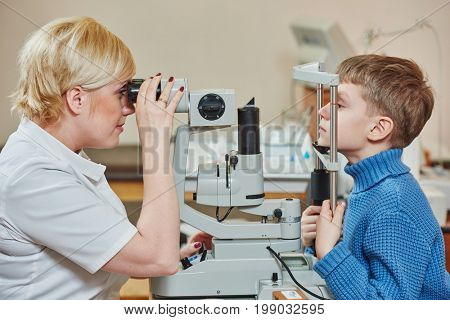 children ophthalmology or optometry