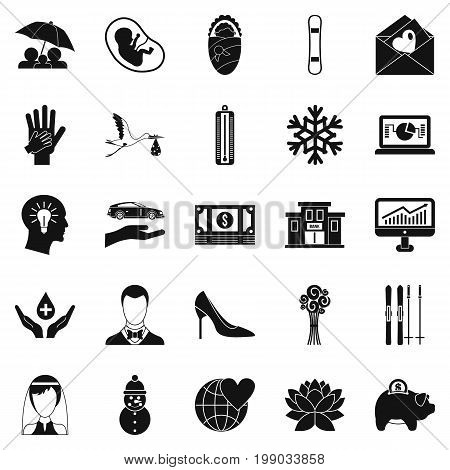 Divertissement icons set. Simple set of 25 divertissement vector icons for web isolated on white background