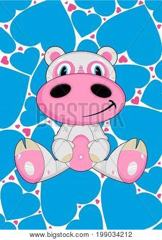 Cartoon Hippo 30