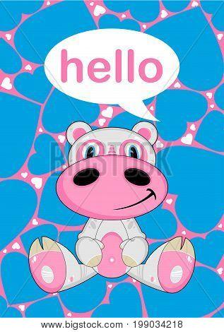 Cartoon Hippo 31