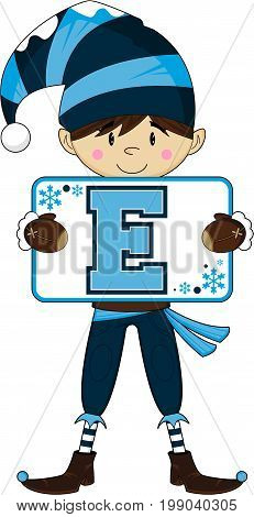 E Is For Elf 4.eps