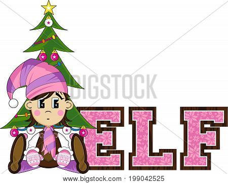 E Is For Elf 59.eps