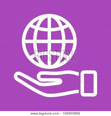 Responsibility, corporate, business icon vector image. Can also be used for soft skills. Suitable for mobile apps, web apps and print media.
