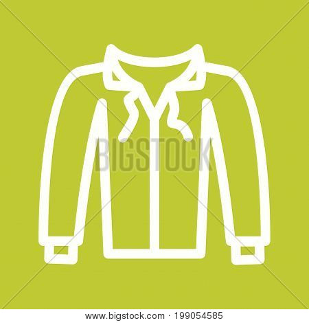 Sweater, clothing, fashion icon vector image. Can also be used for Mens Accessories. Suitable for use on web apps, mobile apps and print media.