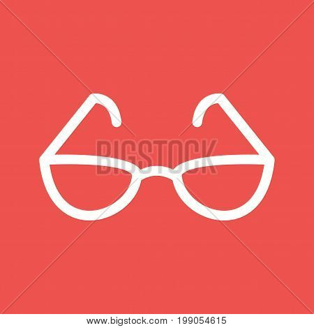 Glasses, reading, book icon vector image. Can also be used for Mens Accessories. Suitable for use on web apps, mobile apps and print media.