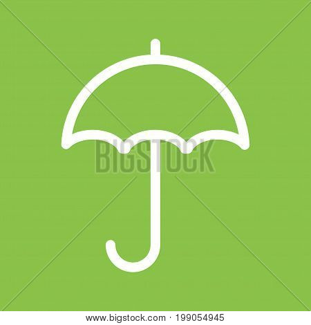 Rain, umbrella, rainy icon vector image. Can also be used for Mens Accessories. Suitable for use on web apps, mobile apps and print media.
