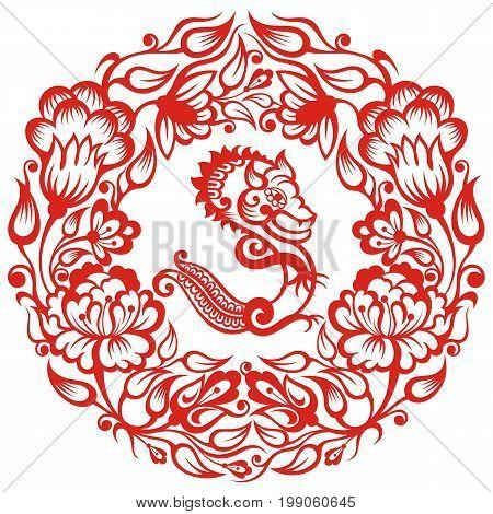 Chinese Zodiac - Dragon. Chinese Zodiac symbol