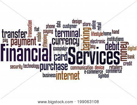 Financial Services, Word Cloud Concept 2