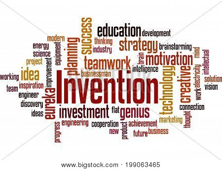 Invention, Word Cloud Concept