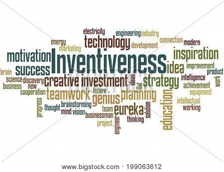 Inventiveness, Word Cloud Concept 5