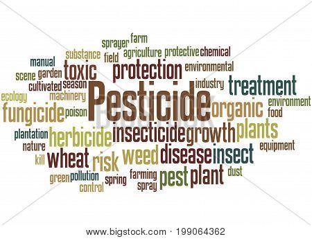 Pesticide, Word Cloud Concept 3