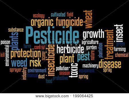 Pesticide, Word Cloud Concept 7
