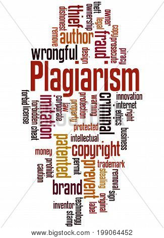 Plagiarism, Word Cloud Concept