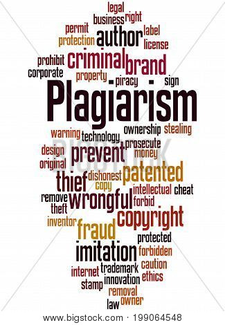 Plagiarism, Word Cloud Concept 7