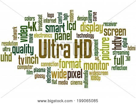 Ultra Hd, Word Cloud Concept 2