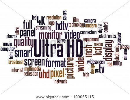 Ultra Hd, Word Cloud Concept 5