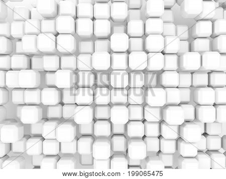 White Background With Industrial Pattern