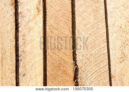 Wooden Slats Stuffed Together