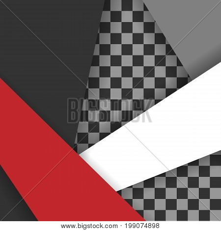 Vector bright geometric design with copy space. Illustration with wavy design. Template for your design. Eps10