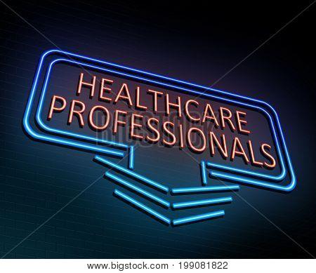Healthcare Professional Concept.