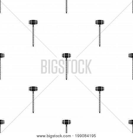 Alcoholmeter icon in black design isolated on white background. Wine production symbol stock vector illustration.
