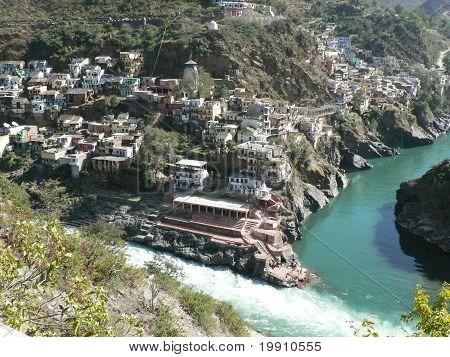 Ganga river begin - Dévprajág