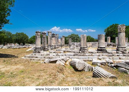 Hecate Temple In Lagina