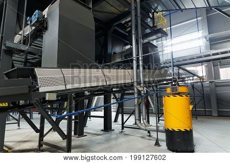 Equipment Of The Waste Sorting Plant
