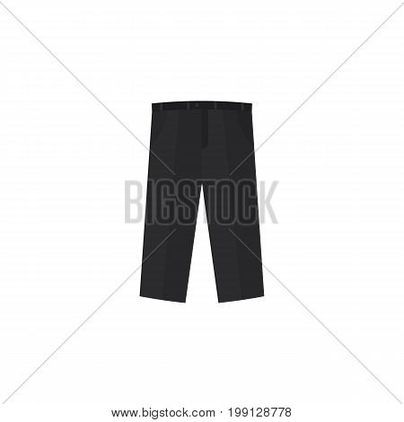 Pants Vector Element Can Be Used For Trousers, Pants, Leggings Design Concept.  Isolated Trousers Flat Icon.