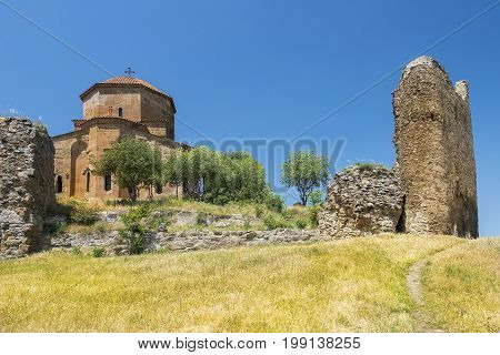 Jvari Monastery, georgian orthodox monastery of the 6th century near Mtskheta, Georgia