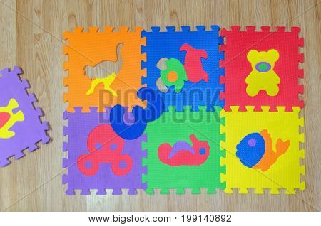 Educational Foam Puzzle Playground For Childs