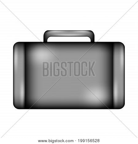 Portfolio sign icon on white background. Vector illustration.
