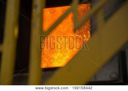 Boiler Industry On Detail Lit Power Scene