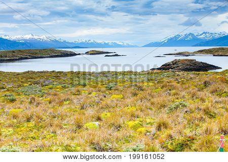 beagle channel ushuaia patagonia argentina tierra del fuego