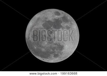 super full moon at 8.03pm on november 25 2016.