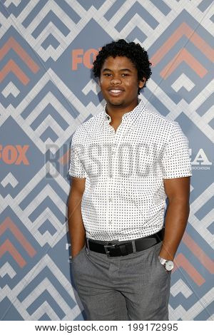 LOS ANGELES - AUG 8:  Isaiah John at the FOX TCA Summer 2017 Party at the Soho House on August 8, 2017 in West Hollywood, CA